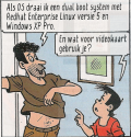 character Nopel in the De Kiekeboes comic strip