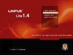 Linpus Lite 1.4 boot options
