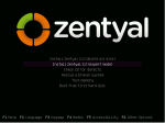 Zentyal installation options