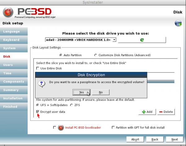PCBSDencrypt