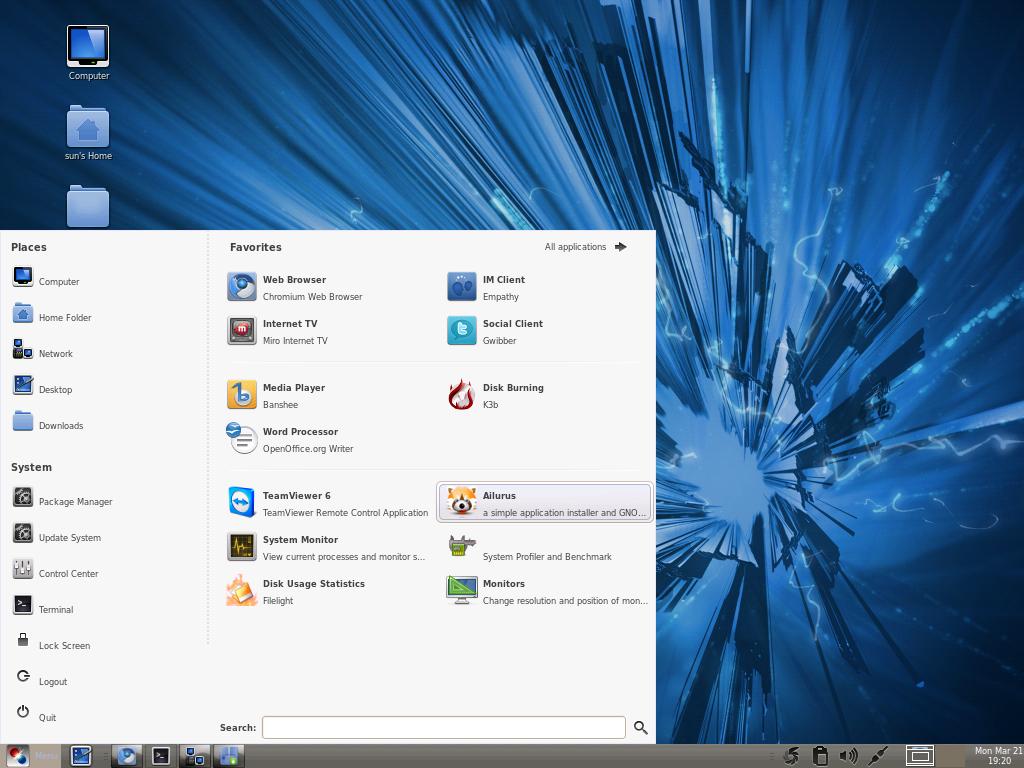 Fusion Linux 14 review | LinuxBSDos com