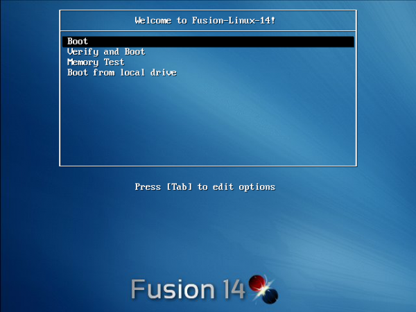 Fusion Linux 14 review
