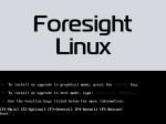Foresight Linux 2.5 review