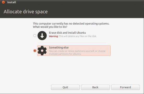 How to install Ubuntu 11.04 on a btrfs file system