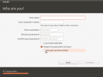 Home directory and full disk encryption in Ubuntu 11.04