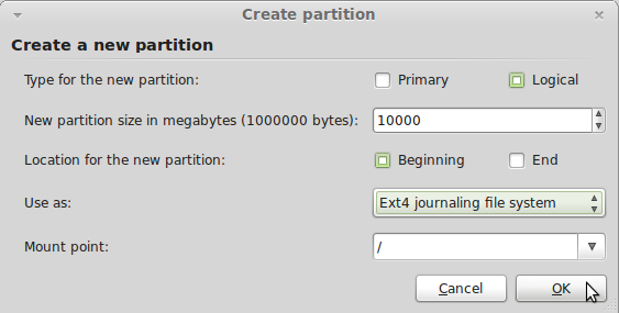 PartitionMint5