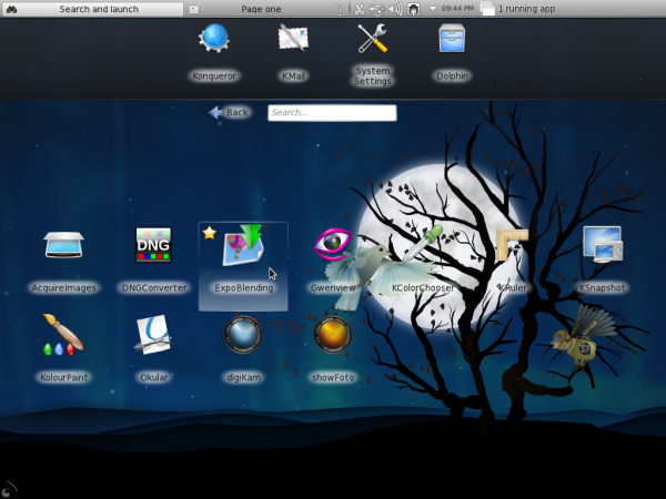 Fedora 15 KDE graphics apps