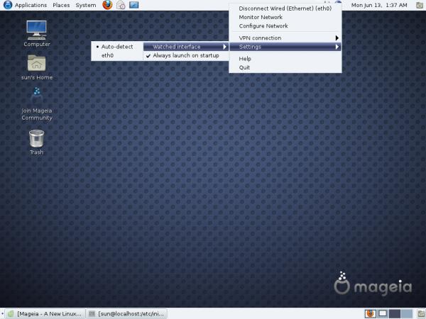 Mageia GNOME desktop