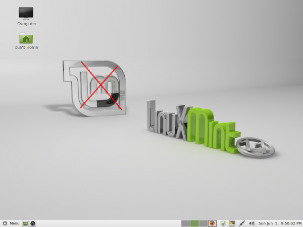 Mint desktop