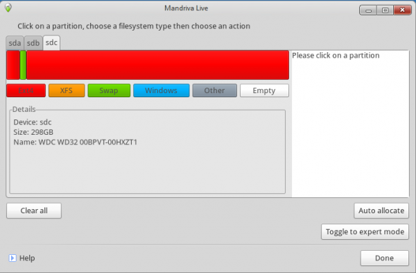 Btrfs On Mandriva Desktop 2011