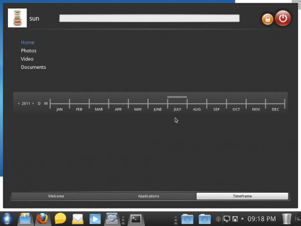 Mandriva Desktop 2011 TimeFrame