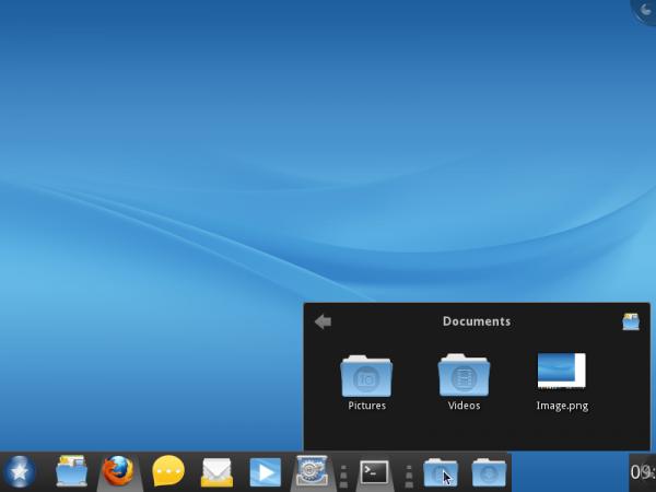 Mandriva Desktop 2011 Stackfolder