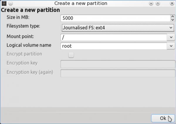 PCLinuxOS 2011.6 Encrypted LVM 10