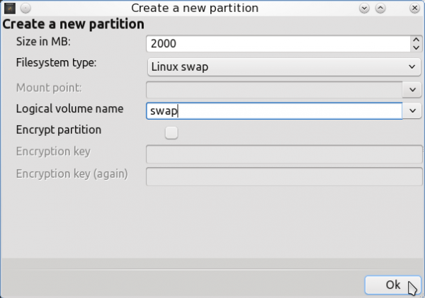 PCLinuxOS 2011.6 Encrypted LVM 12