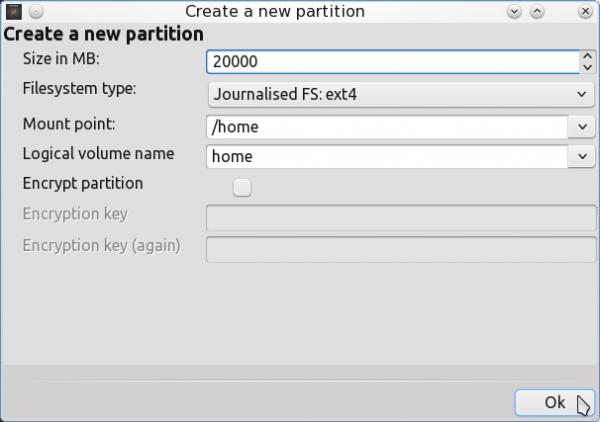 PCLinuxOS 2011.6 Encrypted LVM 13