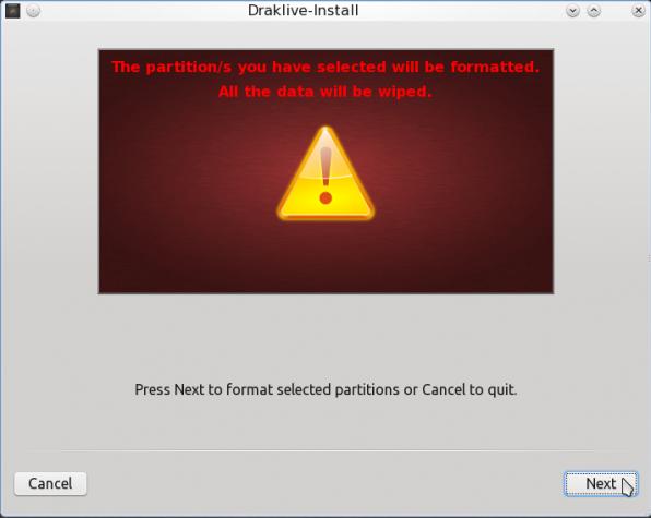 PCLinuxOS 2011.6 Encrypted LVM 15
