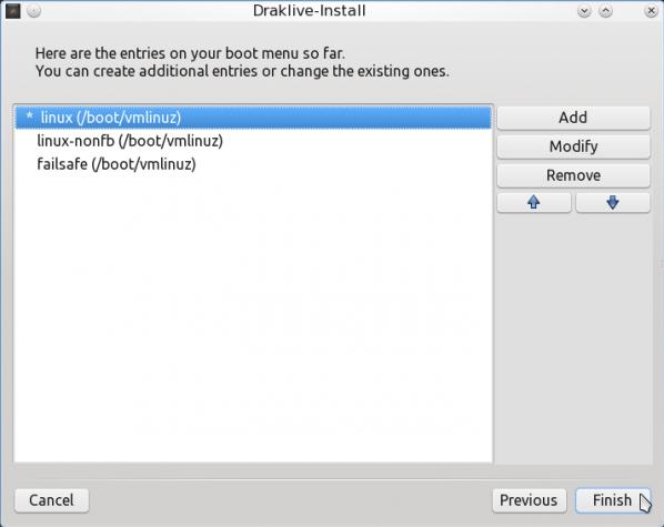PCLinuxOS 2011.6 Encrypted LVM 17