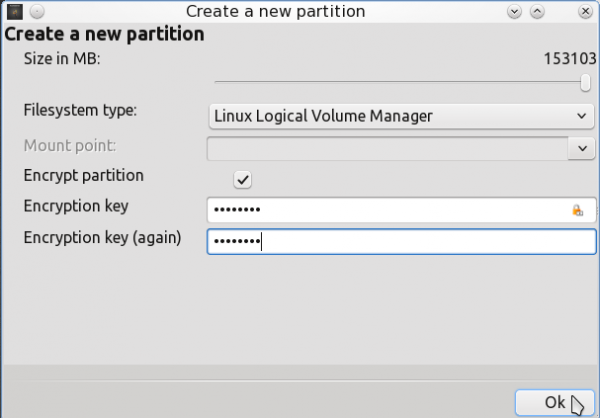 PCLinuxOS 2011.6 Encrypted LVM 5