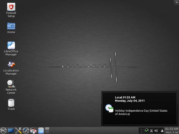 PCLinuxOS KDE Desktop