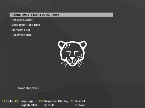 Pardus 2011.1 screenshot pre-review