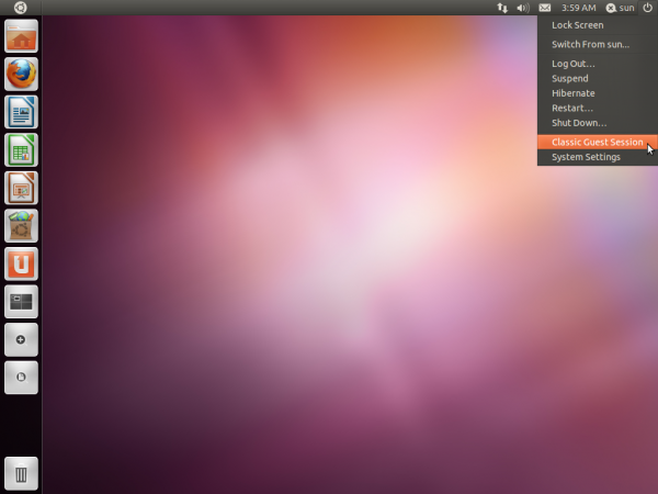 Ubuntu 11.10 Desktop