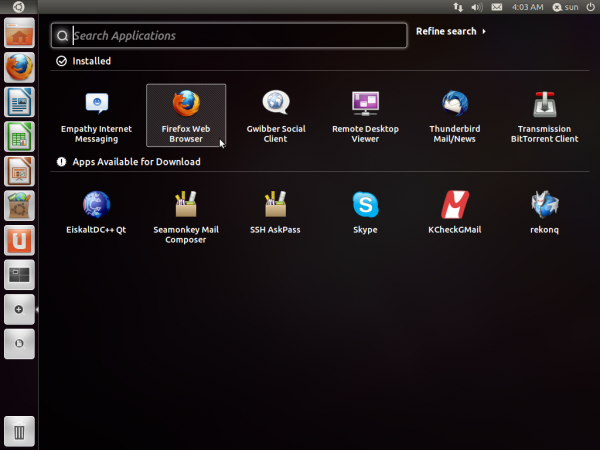 Ubuntu 11.10 Oneiric Ocelot