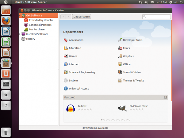 Ubuntu 11.10 Software Manager