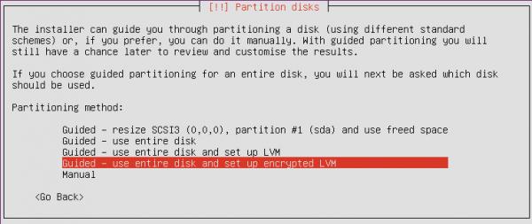 Ubuntu Disk Encrypt