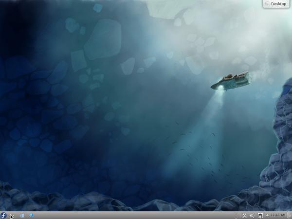 Fedora 16 KDE Alpha Desktop
