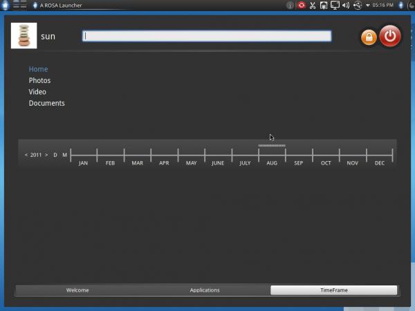 Mandriva 2011 TimeFrame