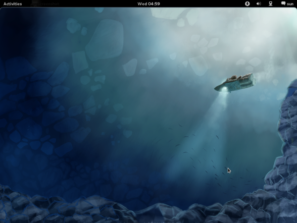 GNOME 3 on Fedora 16