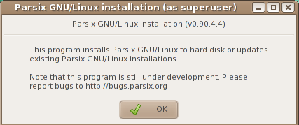 Parsix 3.7 Installer