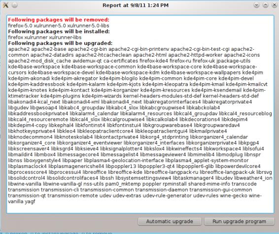 ALT Linux 6 KDesktop Updates