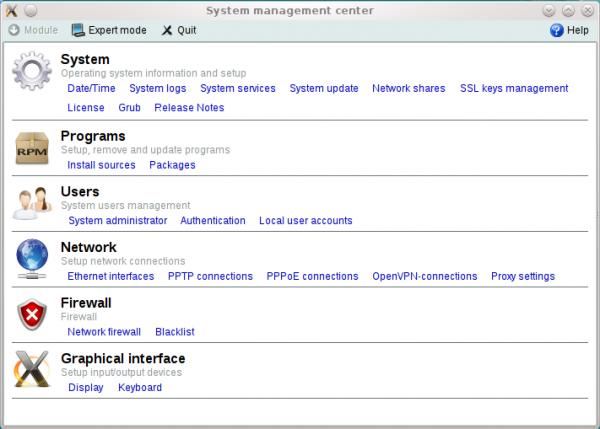 ALT Linux 6 KDesktop Admin