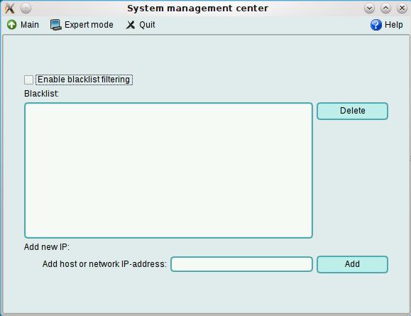 ALT Linux 6 KDesktop Blacklist