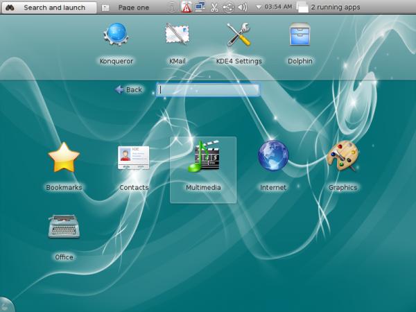 KDE Plasma Netbook ALT Linux 6