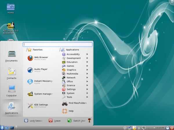 Lancelot Menu ALT Linux 6