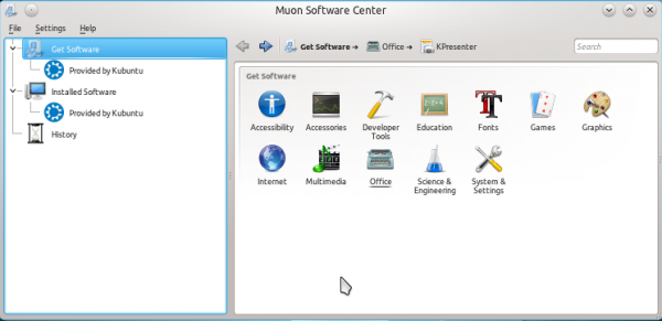 Muon Software Center