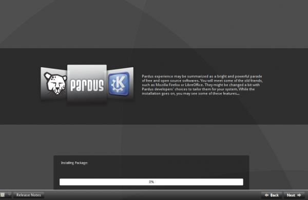 Pardus 2011.2 KDE