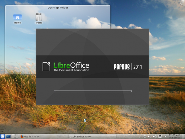 LibreOffice on Pardus 2011.2
