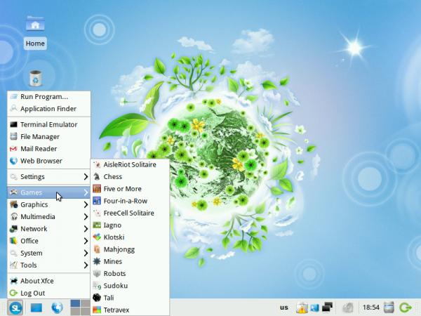 ALT Linux 6 Simply Games