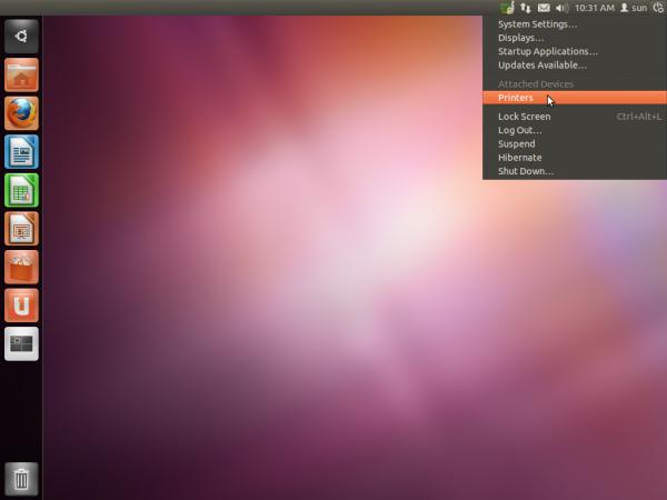 Ubunutu 11.10 beta 1 Desktop