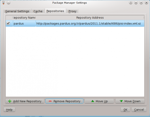Pardus 2011.2 Repository