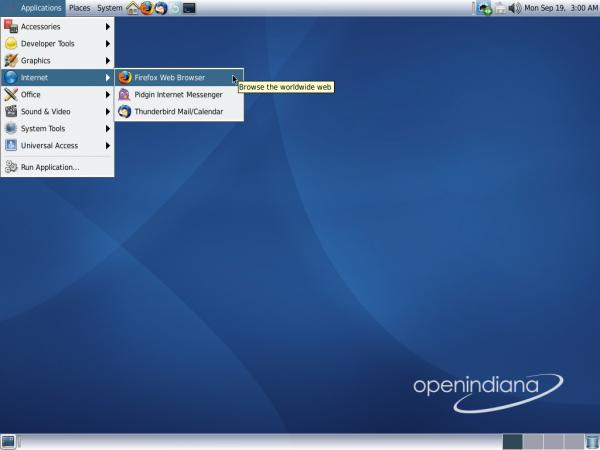 OpenIndiana Desktop