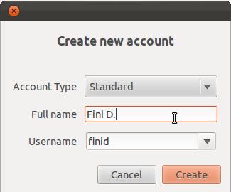 Ubuntu 11.10 Add User