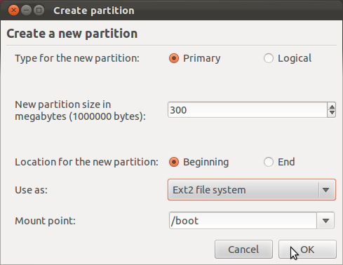 Ubuntu 11.10 Create Boot