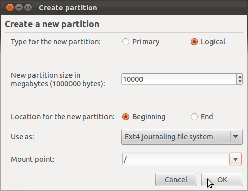 Ubuntu 11.10 Create Root