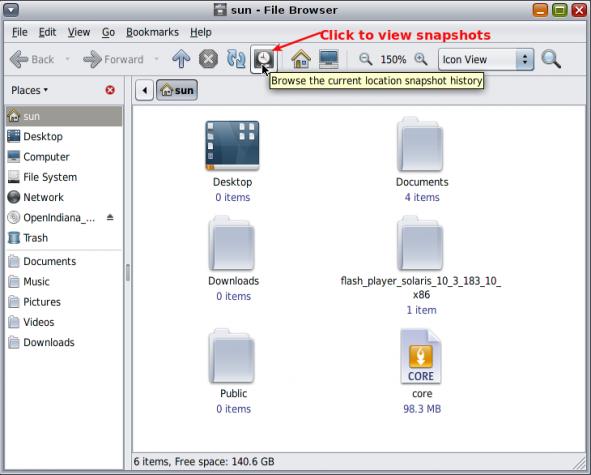 ZFS Snapshot Browsing
