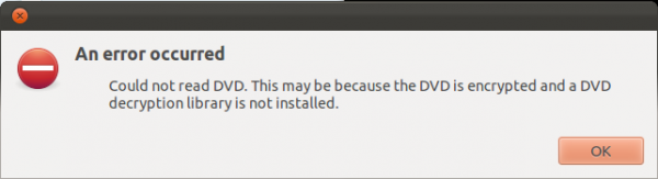 Encrypted DVD Error Ubuntu 11.10