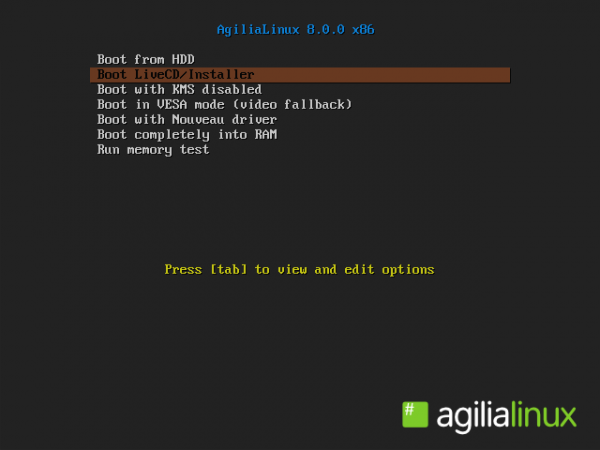 AgiliaLinux 8 GNOME review